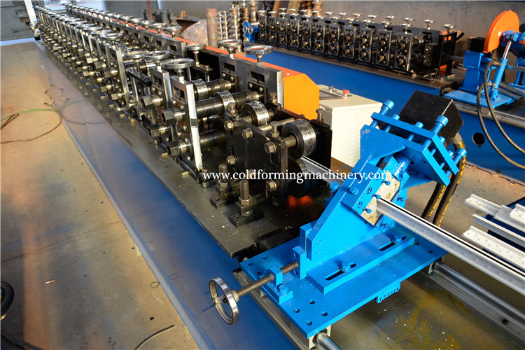 Cross Tee Bar Cold Forming Machines