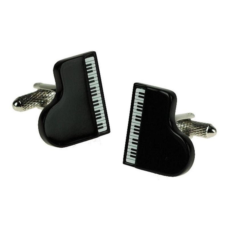 Black Piano Cufflinks