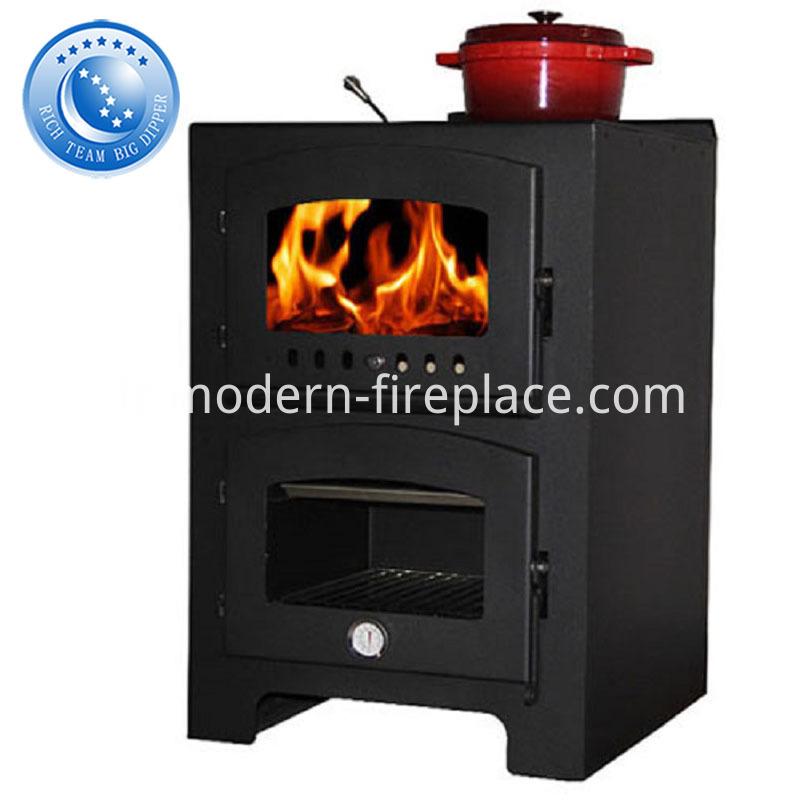 Fireplace Cookers Log Wood Burner Stove