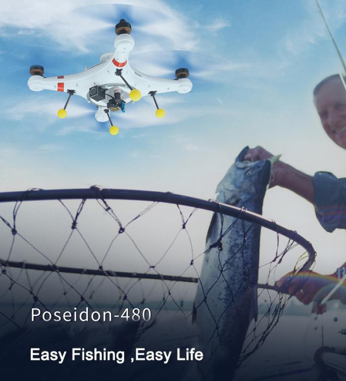 FPV Camera Fishing Drone