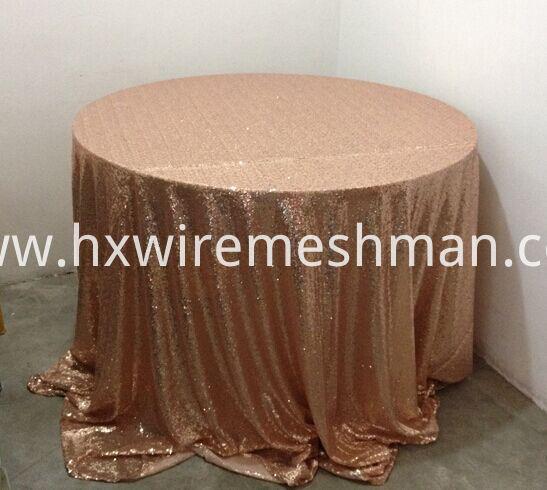 metal table cloth
