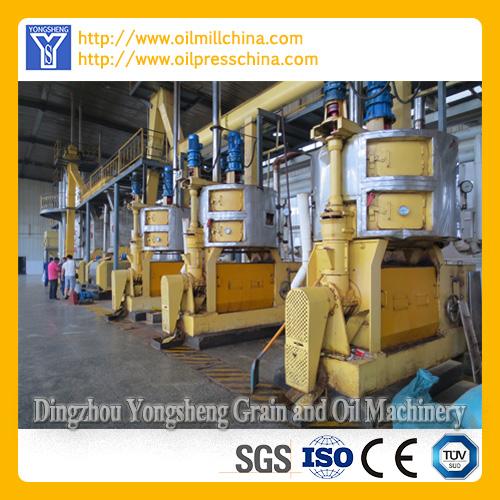 Corn Germ Oil Processing Equipment
