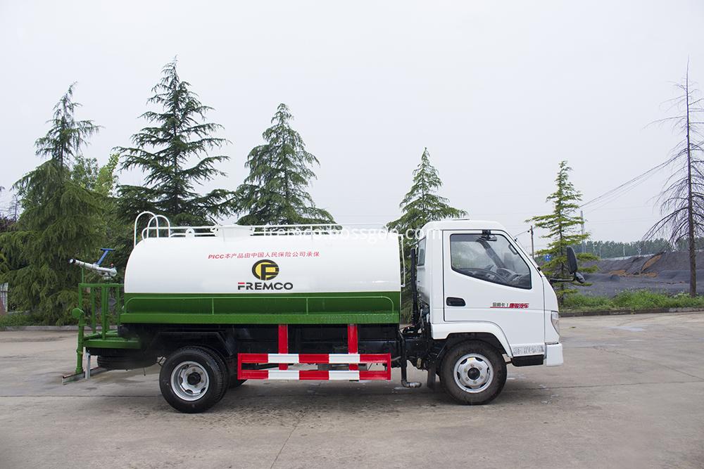 water tank truck rental