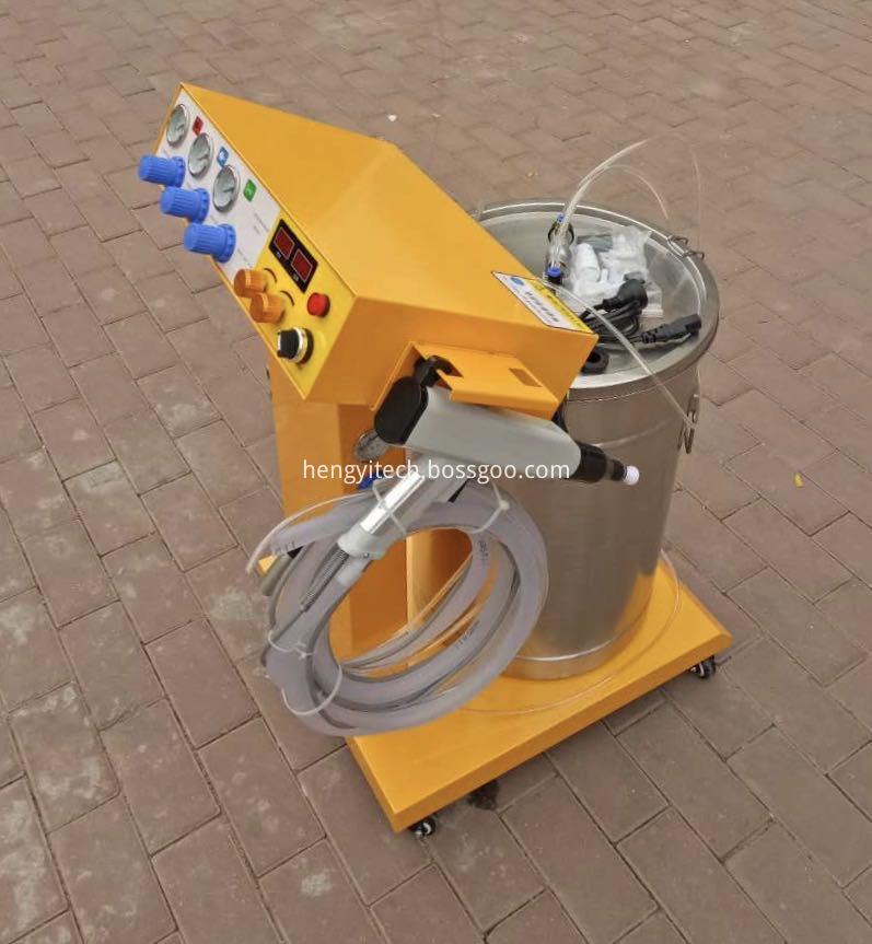 manual powder spray equipment