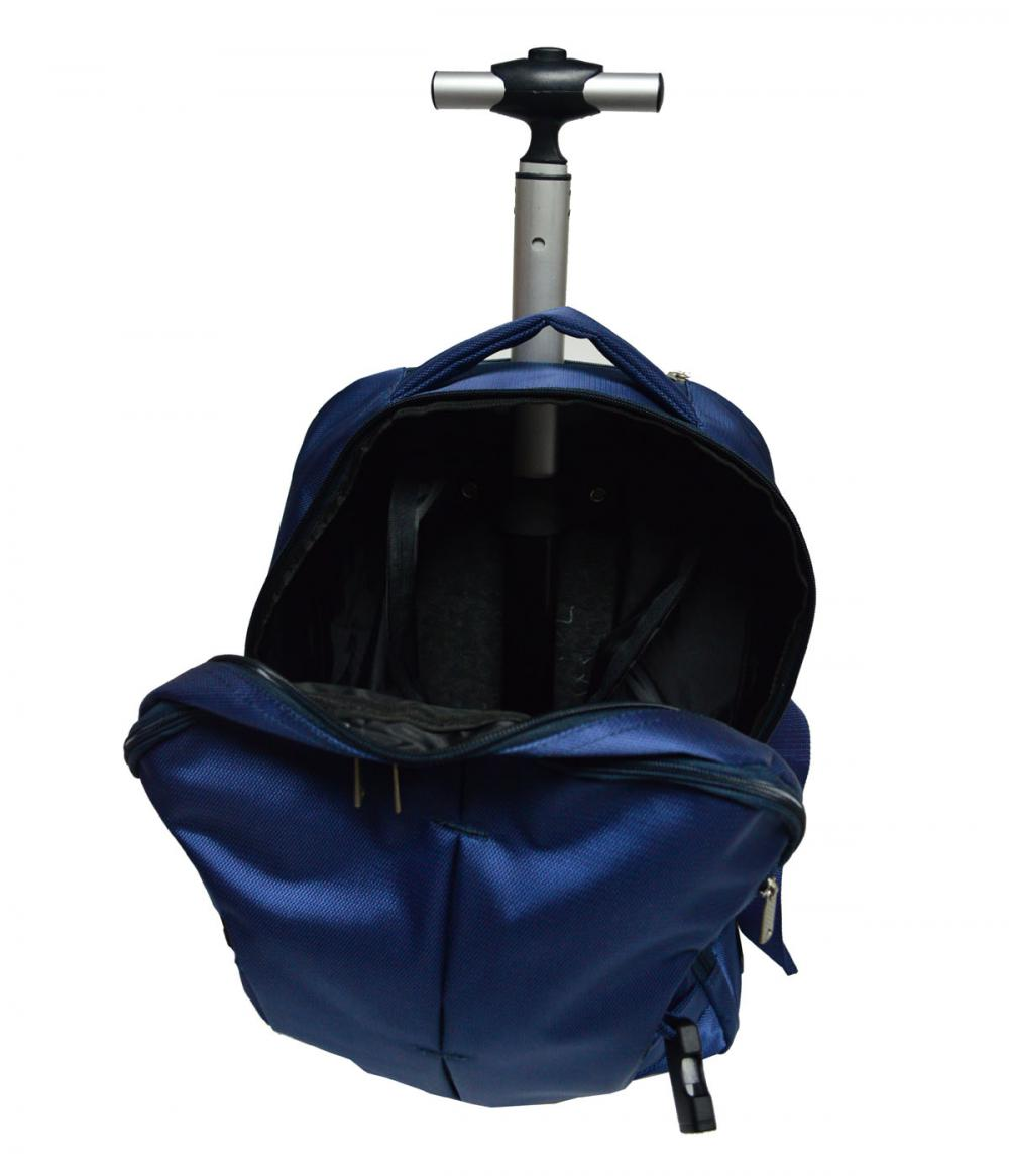 Jacquard Fabric Trolley Bag