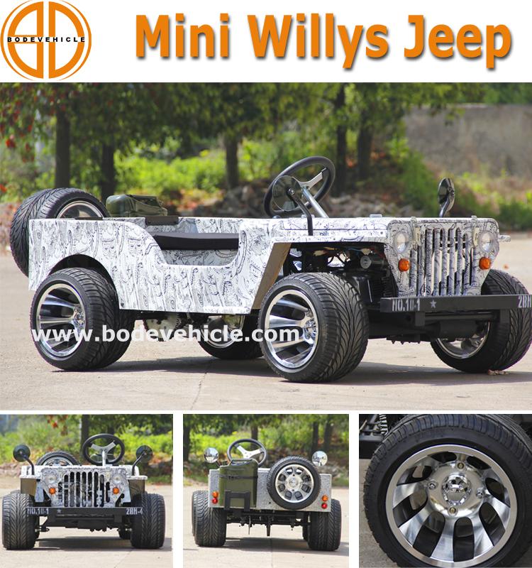 petrol mini jeep