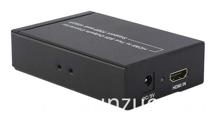 HDMI to 2 SDI output converter