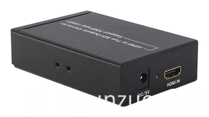 HDMI to 2 SDI output converter