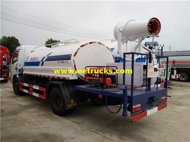Dust Suppression Trucks