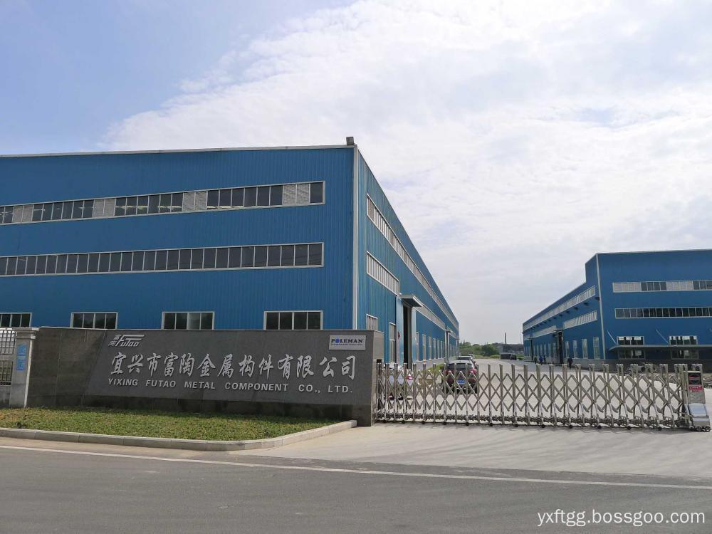 Street pole Factory