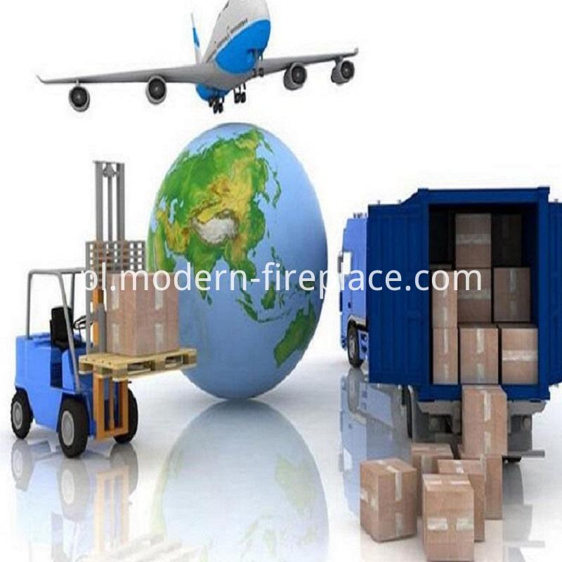 Wood Burner Insert Factory Transport