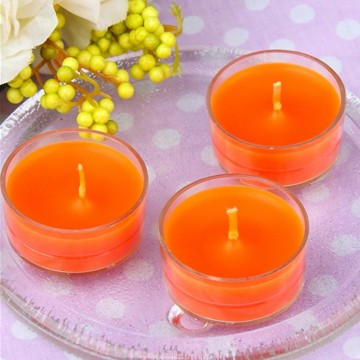 Fragranced Colored Single Tealights candle