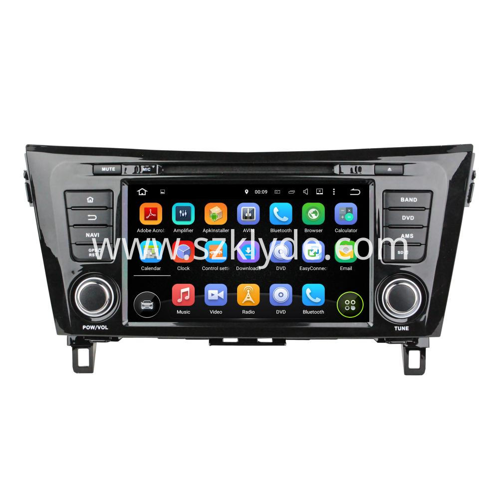 8 Inch Android 6 0 For Nissan X Trail 2014