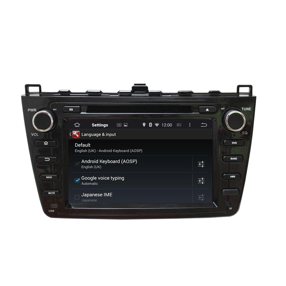 Mazda6 Ultra 2008-2012 car dvd player