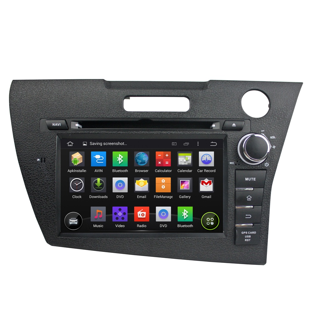 7 inch Honda CRZ car dvd player