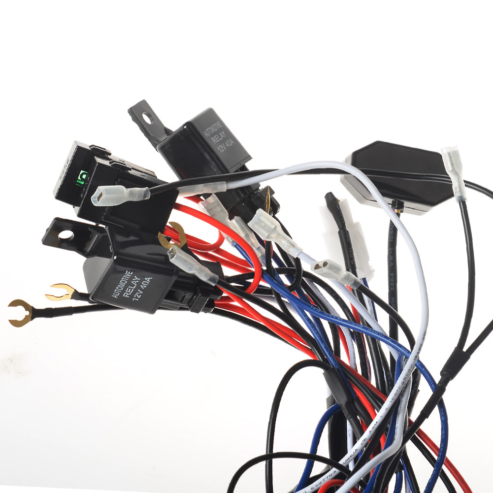LED work light for Double Color Light Bar Wiring Harness 1