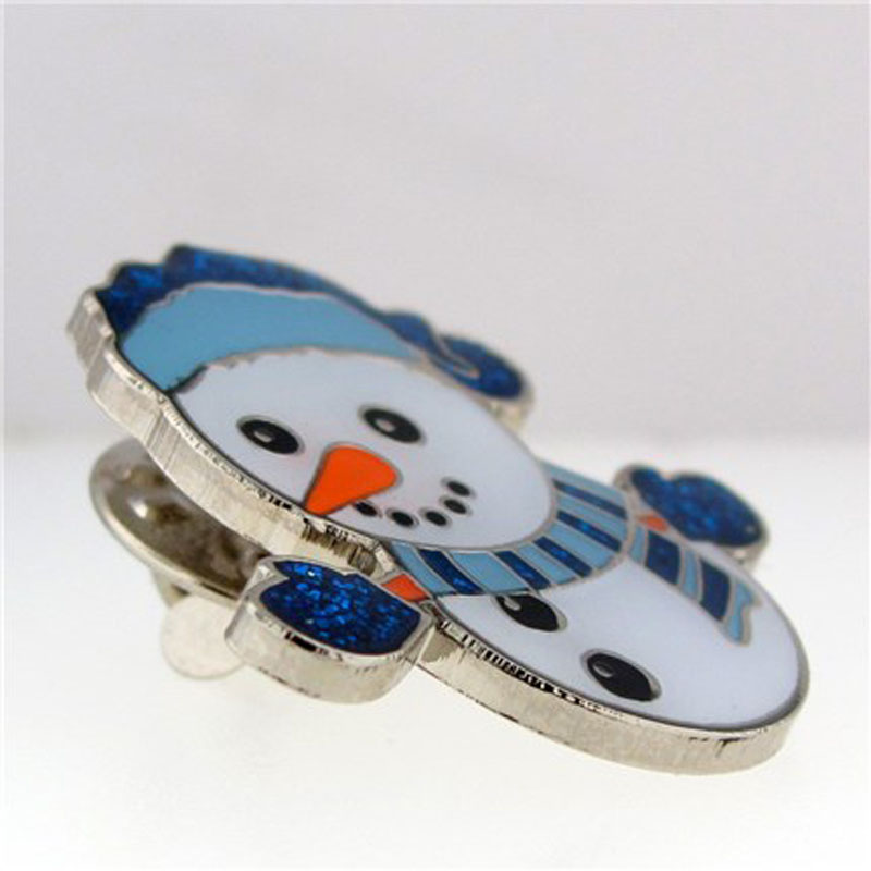 Holiday Snowman Pin Alt