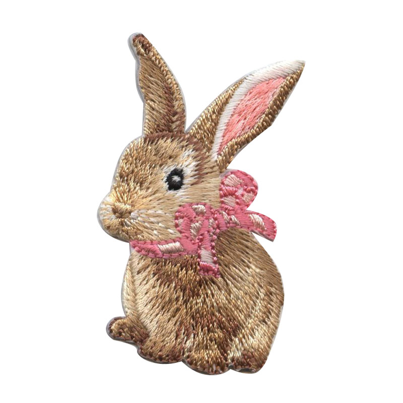Easter Bunny Rabbit Pink Bow