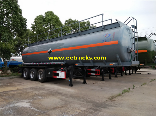 34000L Glacial Acetic Acid Tank Trailers