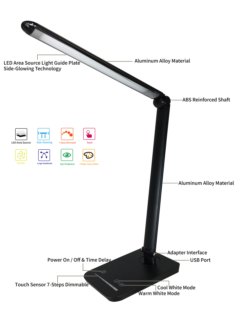 Eye Caring Desk Lamp