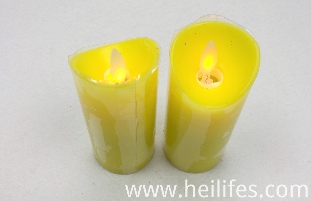 Yellow Candle Light