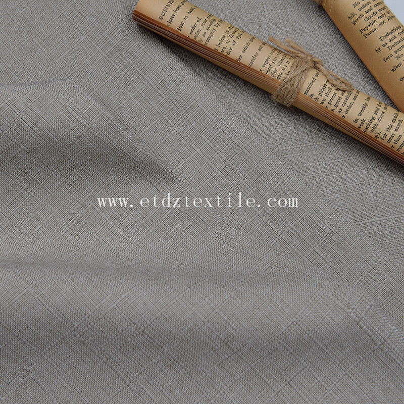 Textile Linen Woven Decorative Sofa Fabric