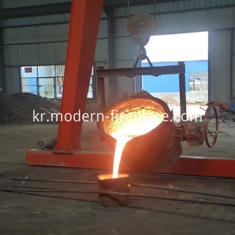 Wood Burner Fireplace For Production