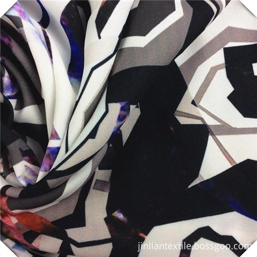 Soft printed rayon fabric