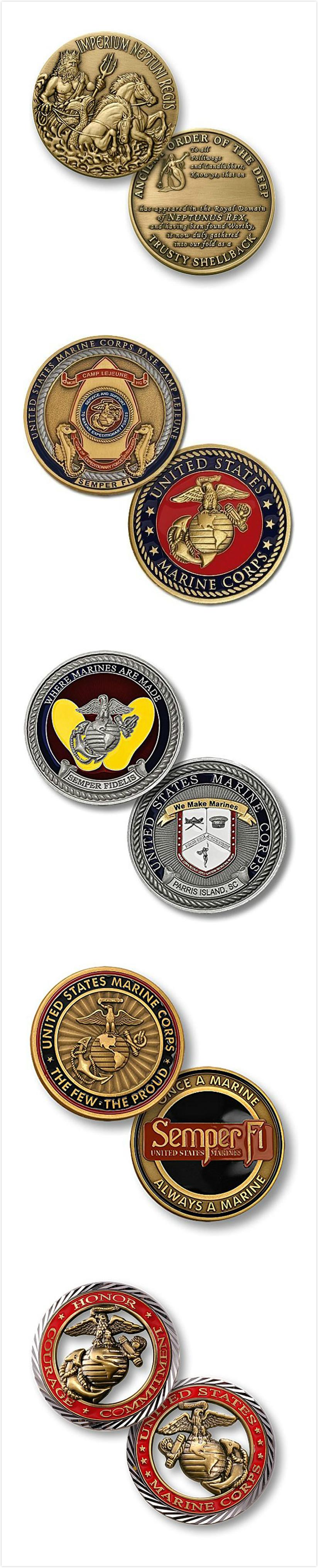 Metal Challenge Coin