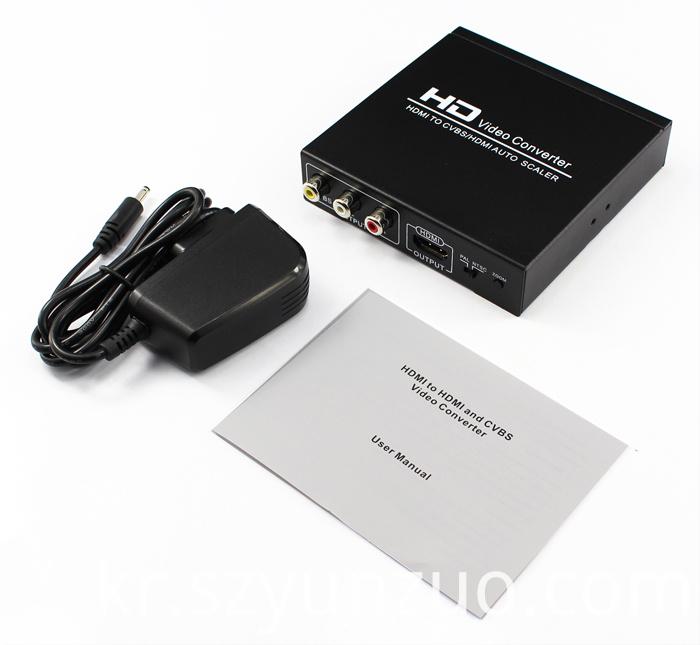 1080p hdmi to cvbs converter