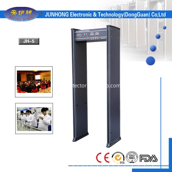6 Zones Walk-Through Metal Detector
