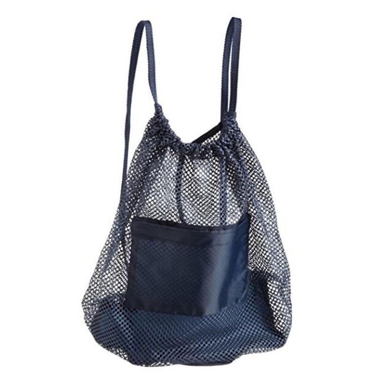 Blue Mesh Backpack