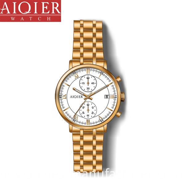 Waterproof Date Stylish Watch
