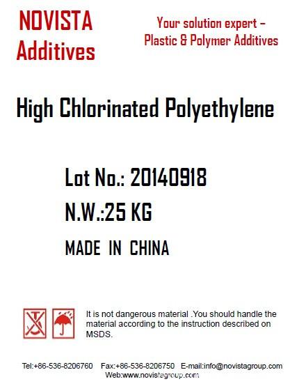 High chlorinated  Polyethylene HCPE