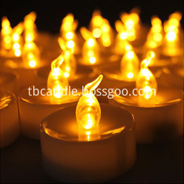 Cheaper realistic LED tealight candle light