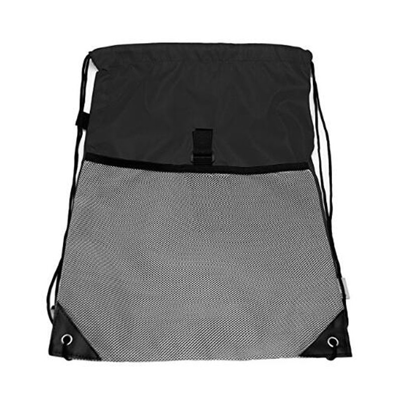 Black Drawstring Backpacks