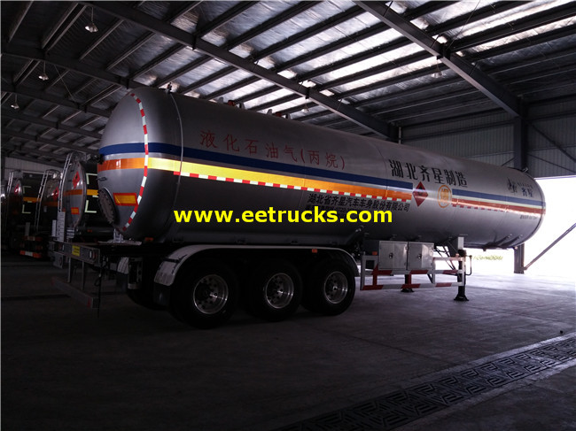 60cbm 30ton LPG Transport Semi-trailers