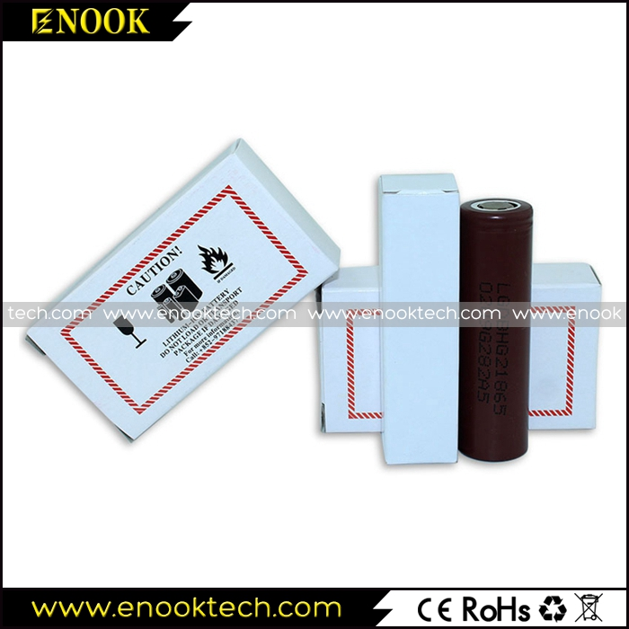 LG HG2 18650 li-ion battery for e cigarette