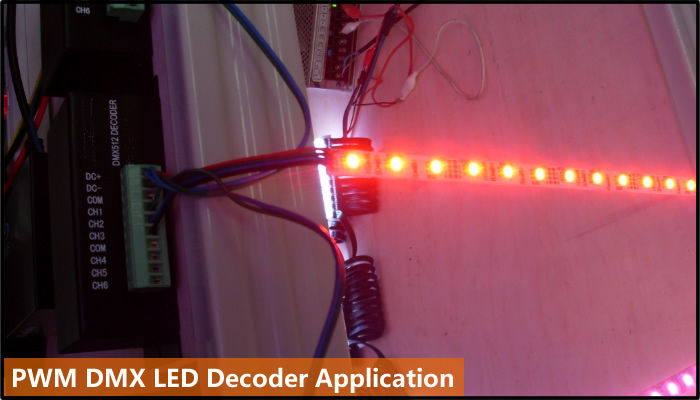 pwm led lighting decoder