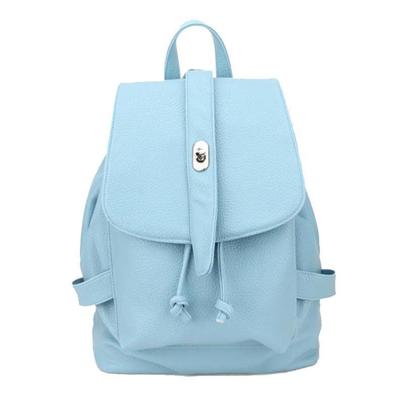 Pu Handbags Dka 1115 H095 Sky Blue