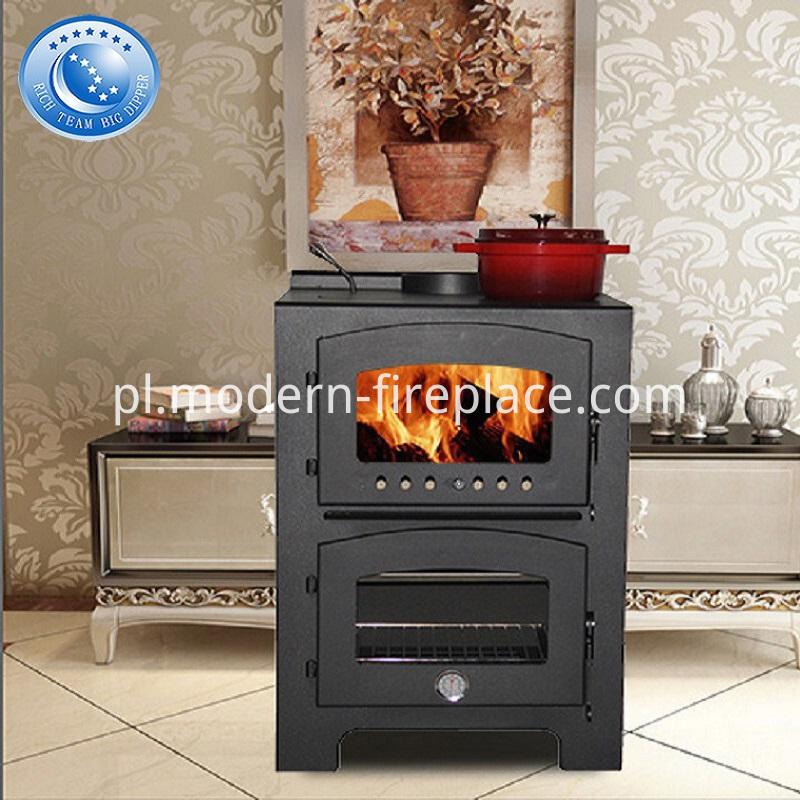 Log Wood Burner Stove Fireplace Cookers