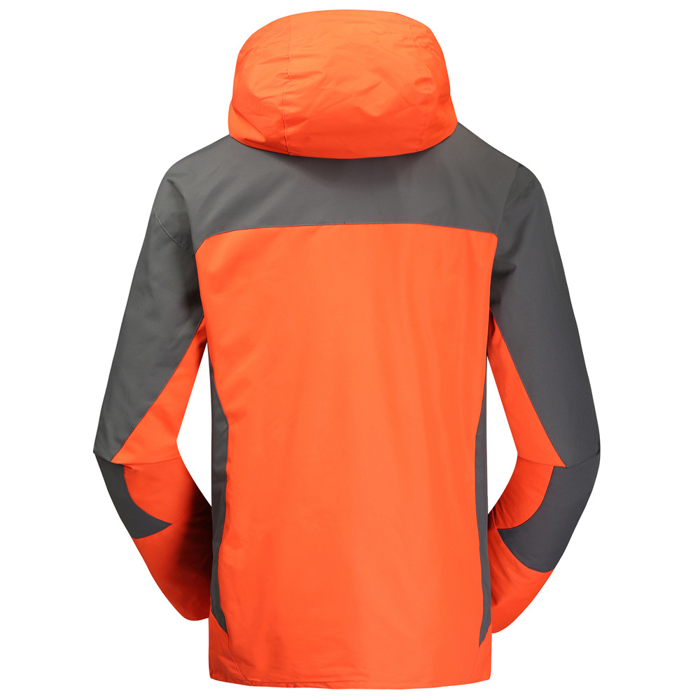 Orange Outdoor Jacket 2