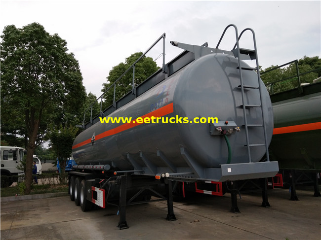 34 CBM Glacial Acetic Acid Tank Trailers