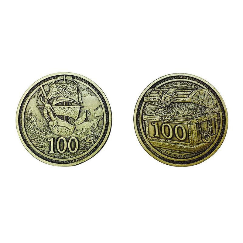 Metal Adventure Coins