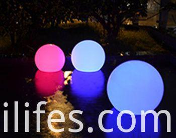 Colorful LED ball light