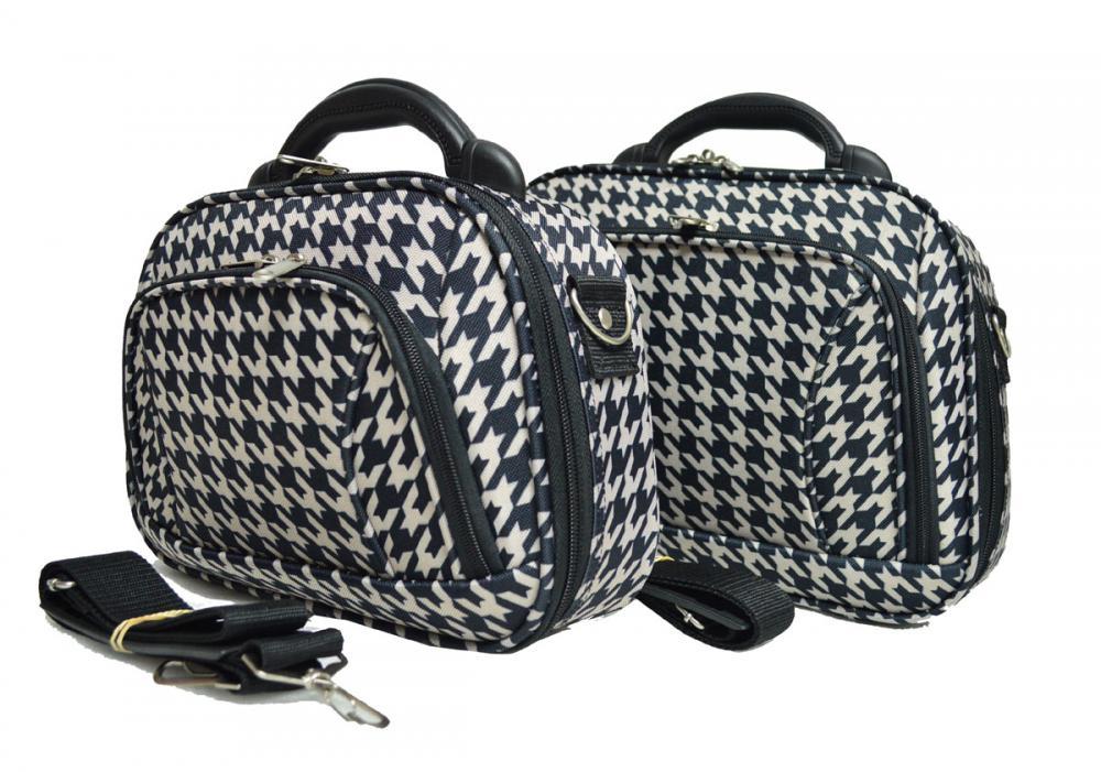 Plastic Handle Cosmetic Bag