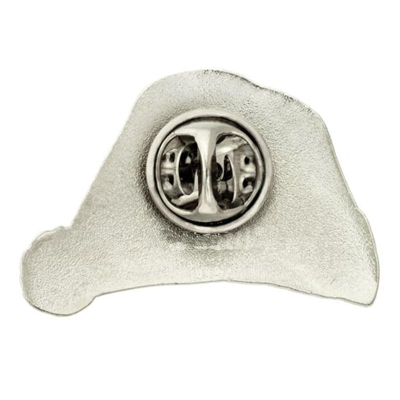 Santa Hat Lapel Pin Back
