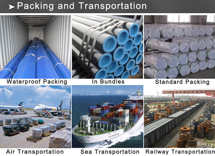 steel pipe packing and transportation 8