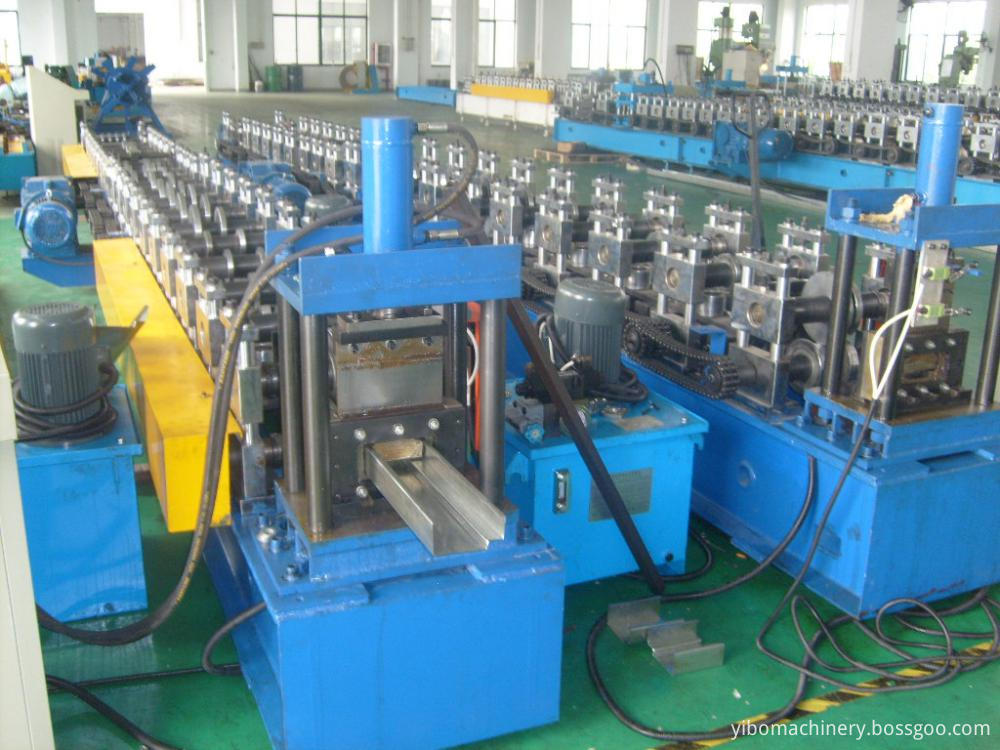 Experienced Steel Door Frame Making Machine
