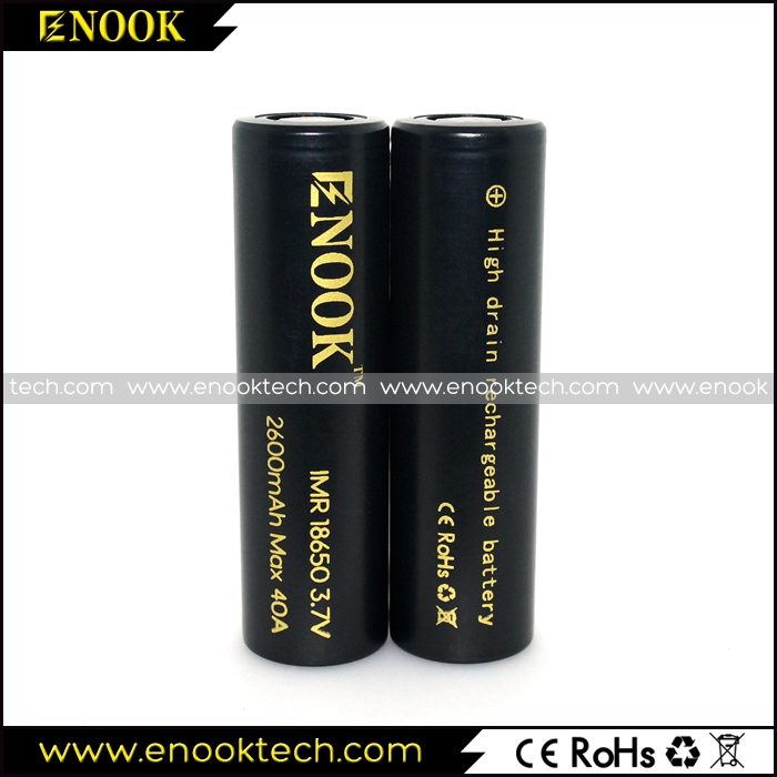 Enook 2600mAh 40A E-cig battery